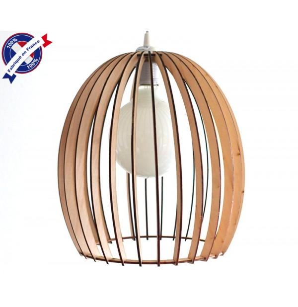 lustre bois tulipe eclairage suspension luminaire plafond. Black Bedroom Furniture Sets. Home Design Ideas