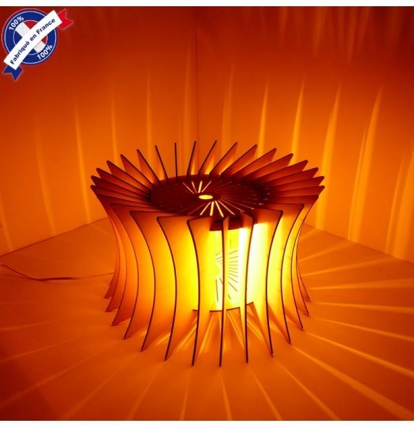 Lampe Design Bois Silhouette Et Decorative