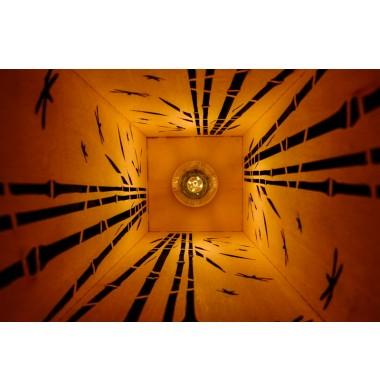 Lampe Bois Bambou